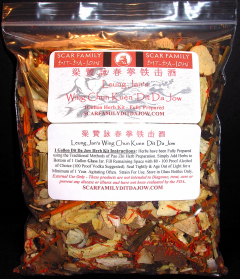 Leung Jan's Wing Chun Dit Da Jow - 1 Gallon Herb Kit